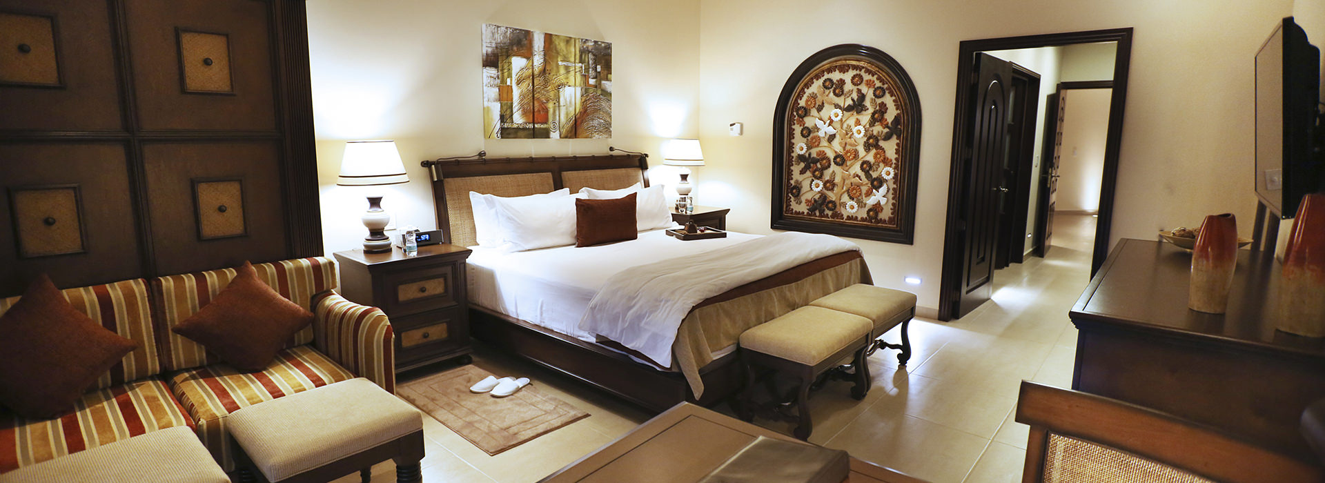 ample suite in Grand Residences Resort