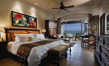 Spacious and luxurious suites in Riviera Maya